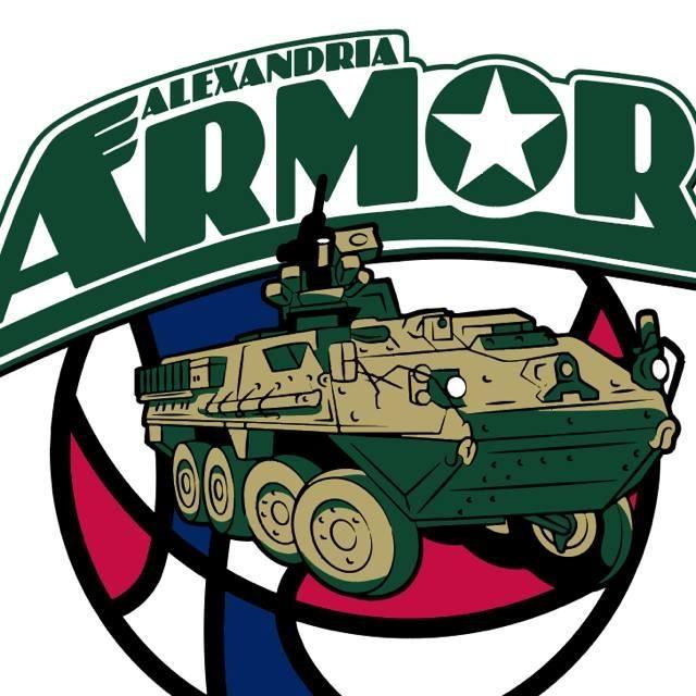 Alexandria Armor logo