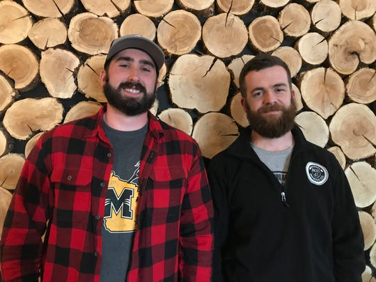 Matt Stubing and brewmaster Nathan Sharpless are operating partners of Barrel 41 Brewing Co. in Neenah.
