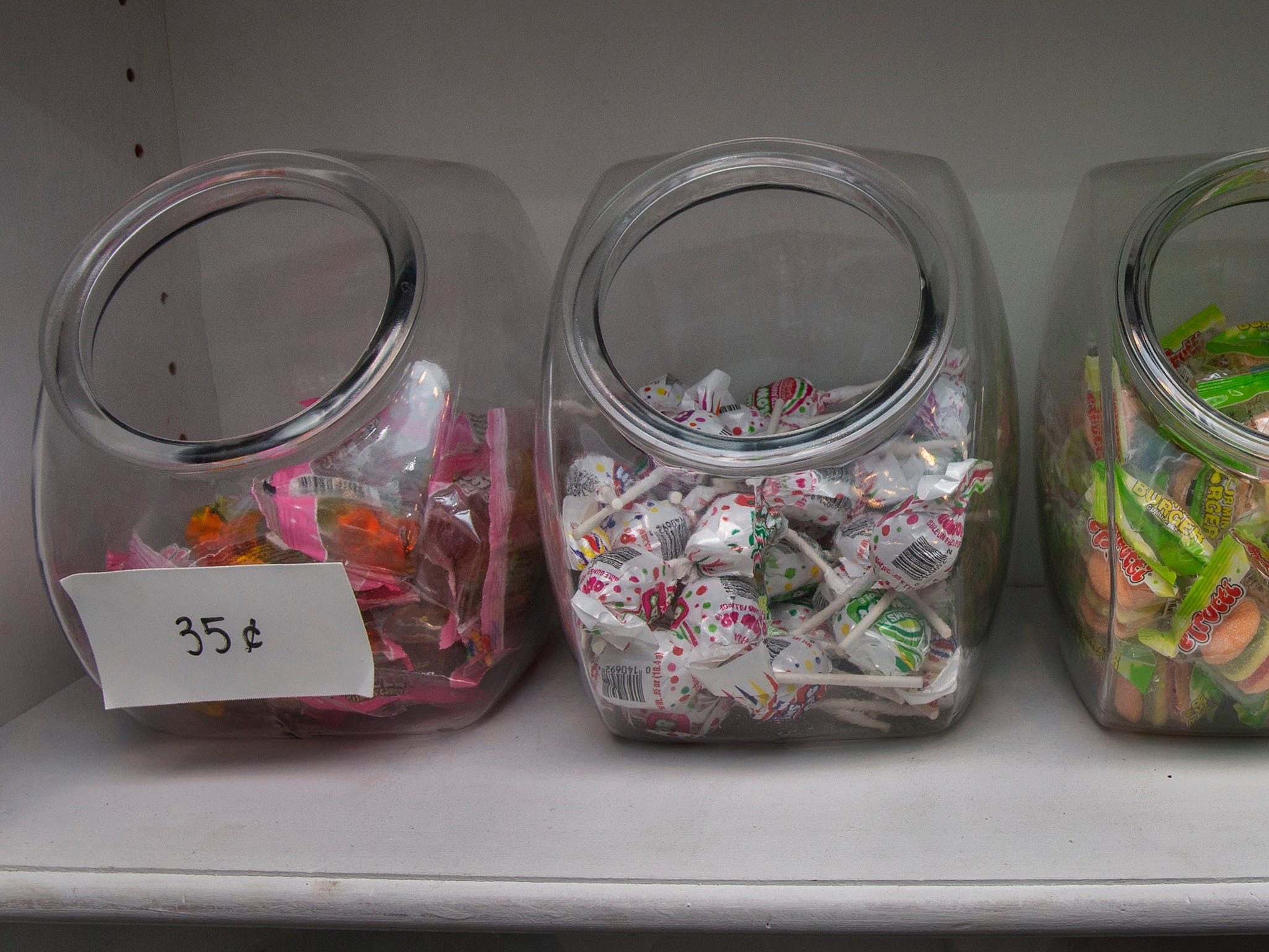 Small candies for sale at Red Bank Chocolate Shoppe, a Red Bank-based business owned by Amy Berry Healy, which provides a large range of different types of chocolate.