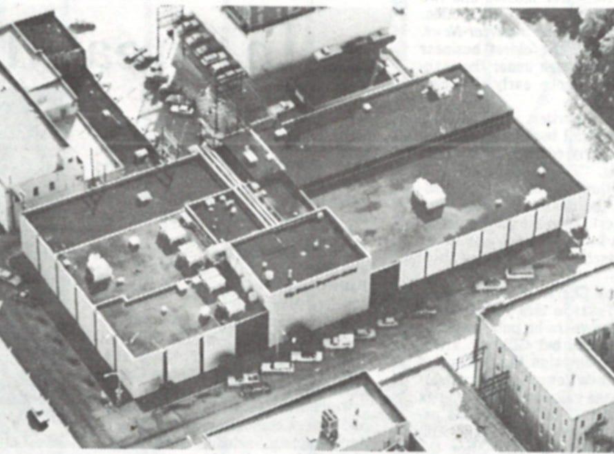 The Abilene Reporter-News building on Cypress Street in downtown Abilene in 1981.