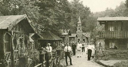 German internees at Hot Springs.