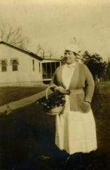 Jessie Morris, nurse at Army Hospital No. 19.