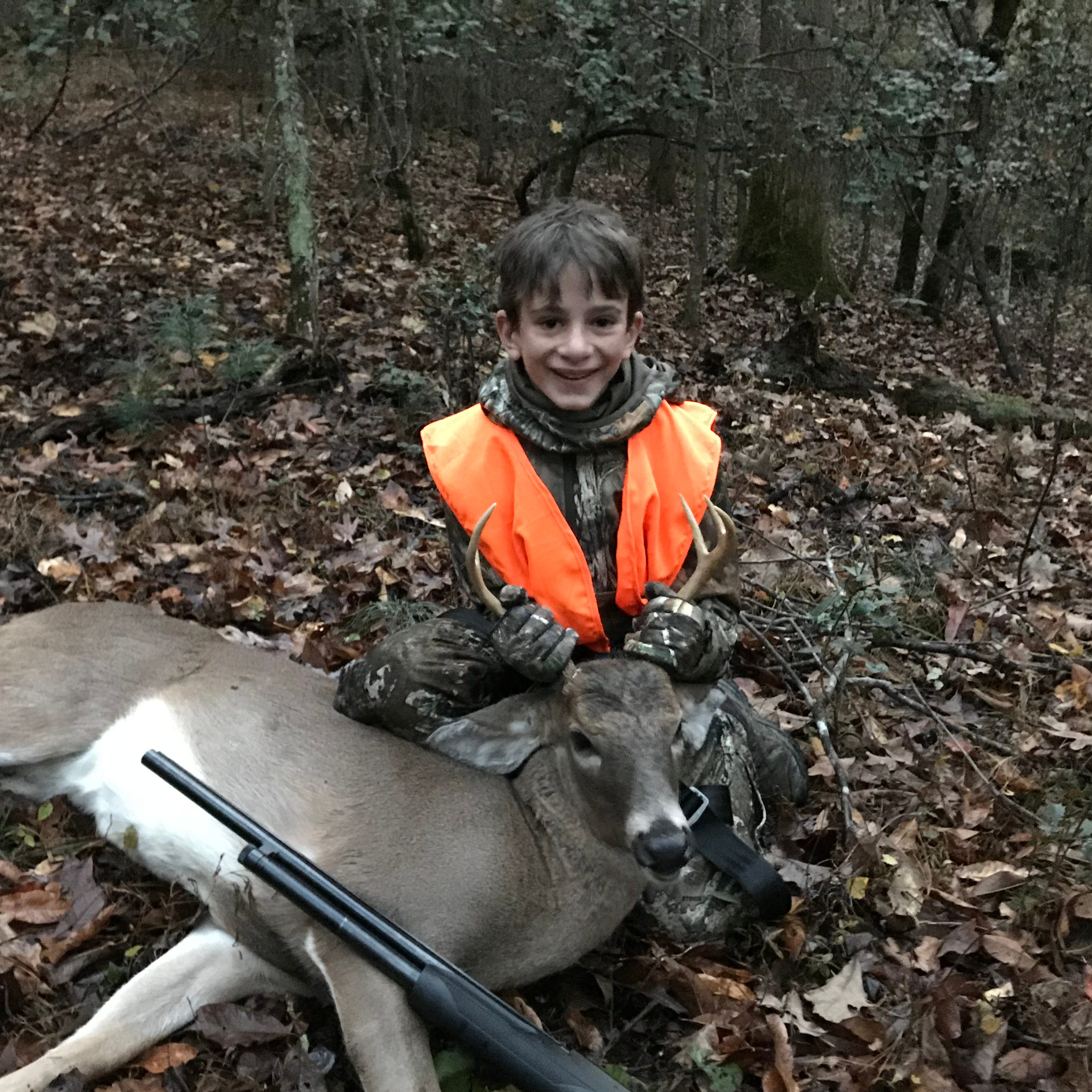 Father on son's first deer hunt: 'I hope this instills a lifelong appreciation of wildlife'