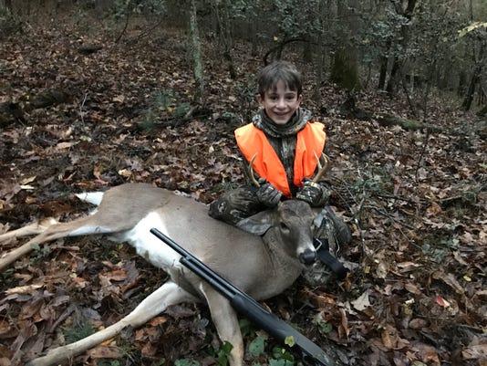 Deer Hunting Benjamin Weaver 1