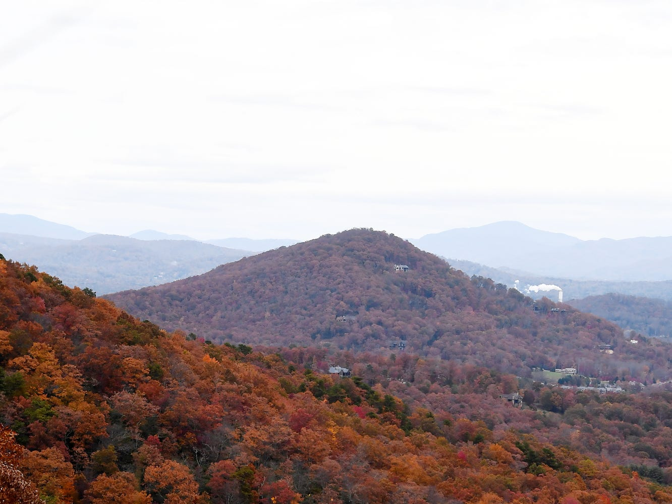 Autumn views from the Blue Ridge Parkway November 4, 2018.