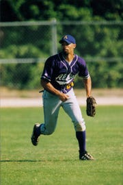 Jason Trippett was an all-conference utility player for the Albion College baseball team in the 1990s.