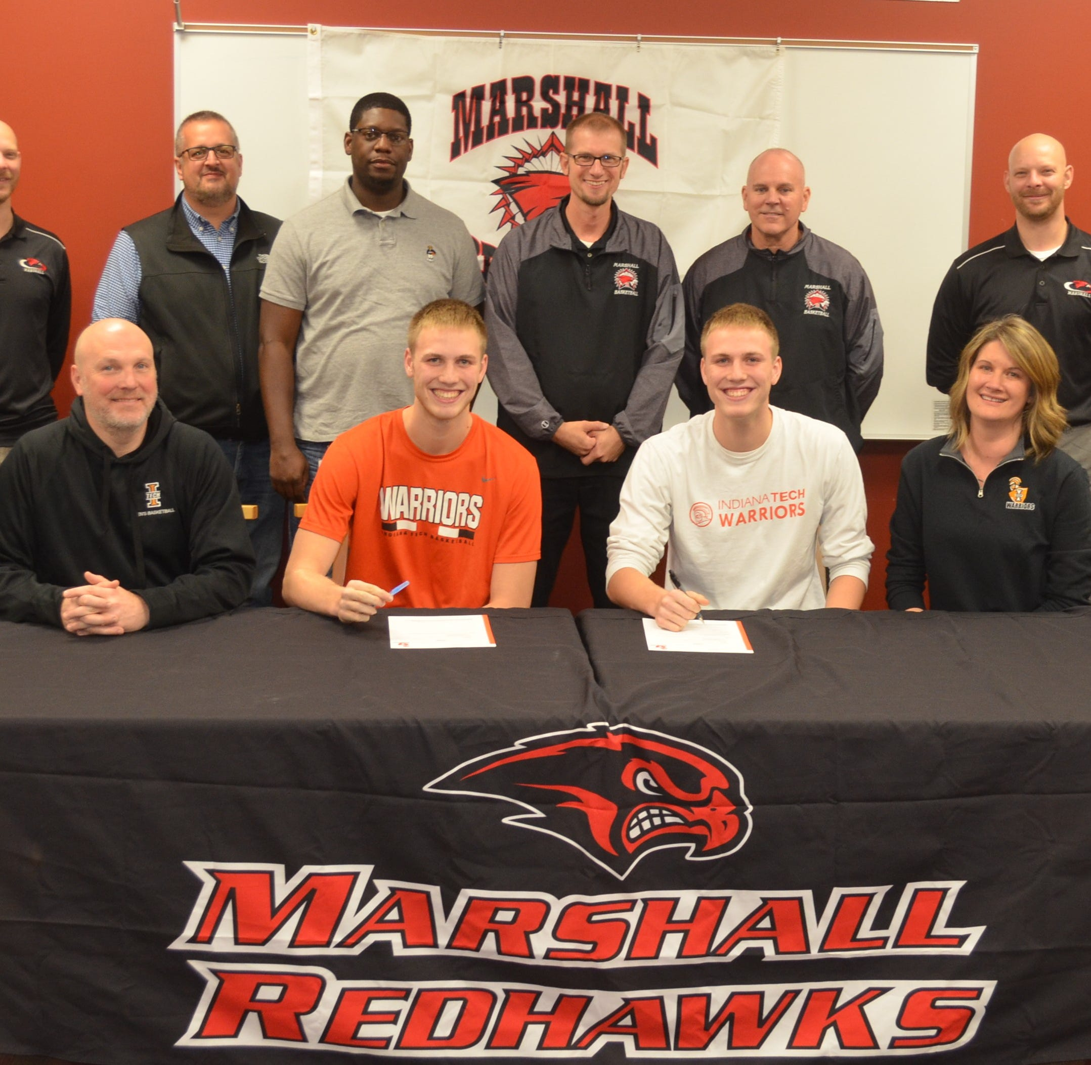 Marshall's Luciani twins sign to play for Indiana Tech