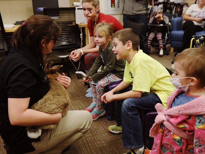 Gallery: Binder Park Zoo animals visit hospitalized children