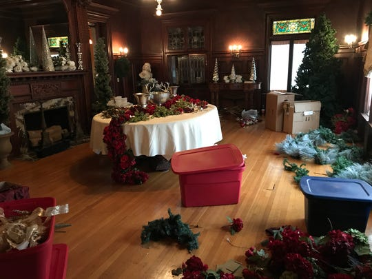 Thousands of decorations and hundreds of volunteers are involved in Roberson Museum and Science Center's Home for the Holidays event.
