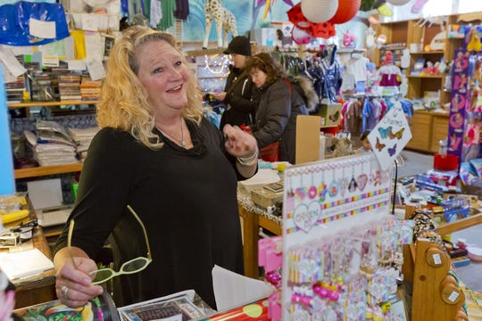 Jennifer Engel, of Ithaca, pictuted in 2014, is the owner of the Cat's Pajamas.