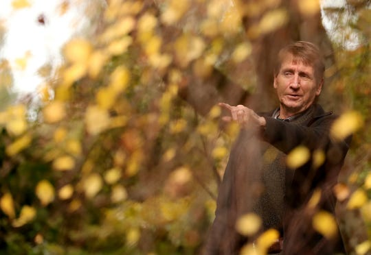 """""""Some of my best friends are trees,"""" jokes Bob Braid, who is in charge of the Japanese Garden at Bainbridge Island's Bloedel Reserve."""