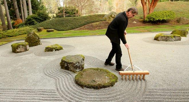 Bob Braid begins most days caring for the Japanese Garden at Bloedel Reserve on Bainbridge Island.