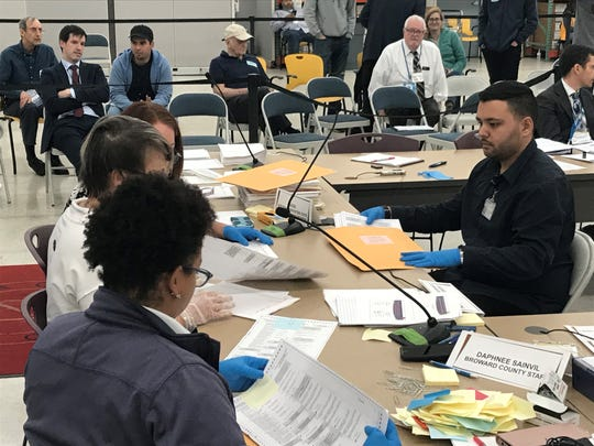 The recount inBroward County, which the Nelson campaign pointed to as key to closing the gap with Scott, was mostly finished after just two hours Friday.