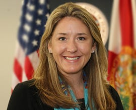 Cissy Proctor,  executive director of the Florida Department of Economic Opportunity.