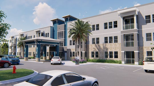 Luna Trails is a new affordable housing project being developed at 1705 S. DeLeon Av., Titusville.