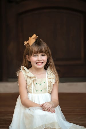 Taylor Moyles, 6, is Space Coast Parent's December Child of the Month.