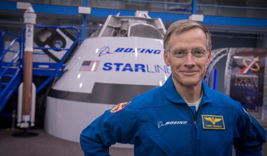 Chris Ferguson is a Boeing astronaut and director of crew and mission systems for the CST-100 Starliner.