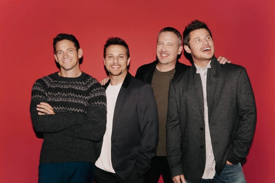 The '90s band 98 Degrees plays a Christmas show Dec. 17 in Rutland.