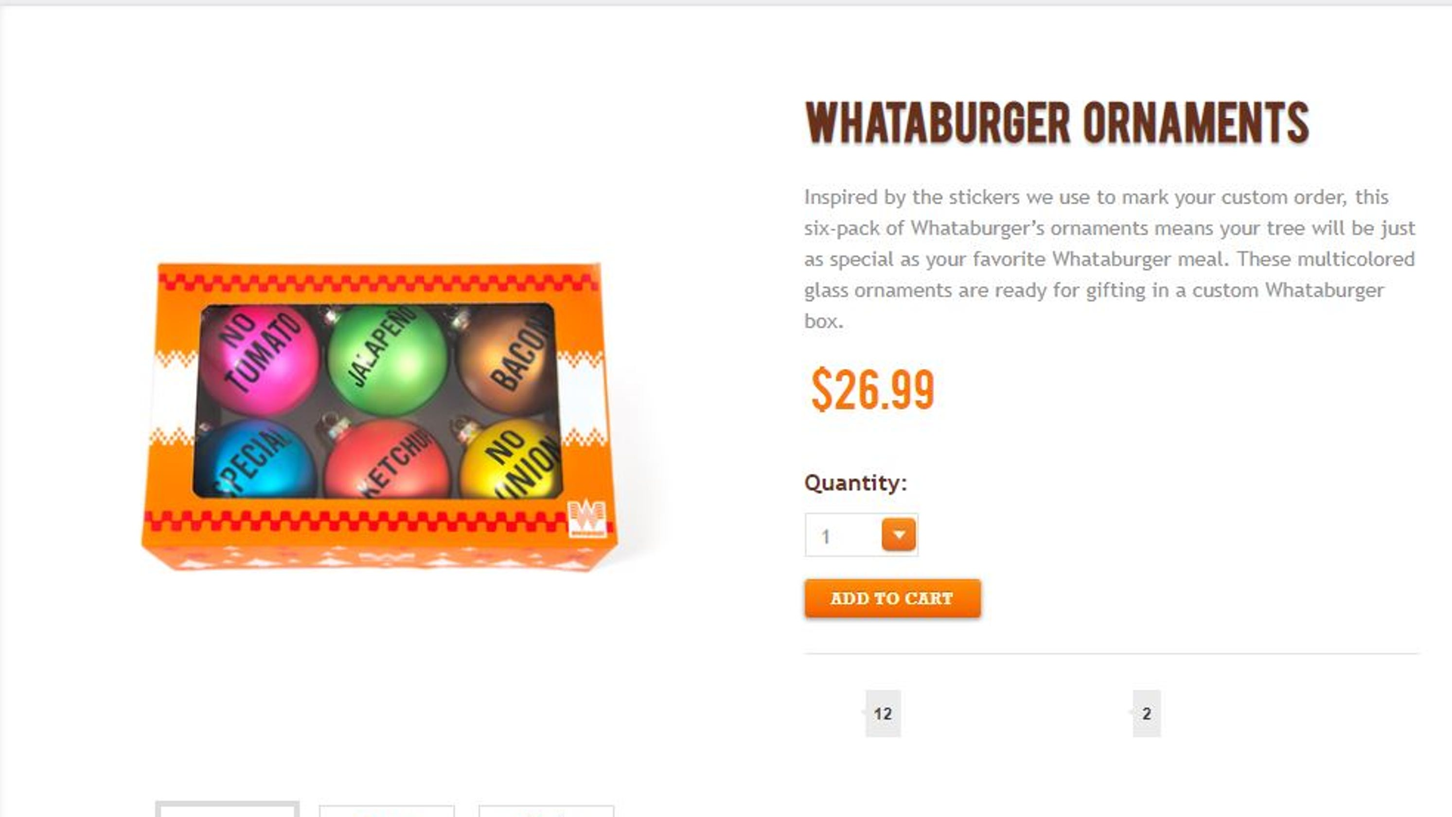 These are perfect gifts for Whataburger fans
