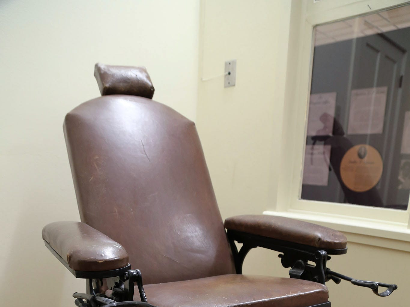 "This operating chair on display in the Corpus Christi Museum of Science and History on Dr. Arthur Spohn is the type of chair he would have used to operate on Petra Vela Kenedy's neck tumor in 1873. Photo courtesy Michael Carlisle MCC Media. Images are from ""Dr. Arthur Spohn: Surgeon, Inventor, and Texas Medical Pioneer"" published by Texas A&M University Press (2018)."
