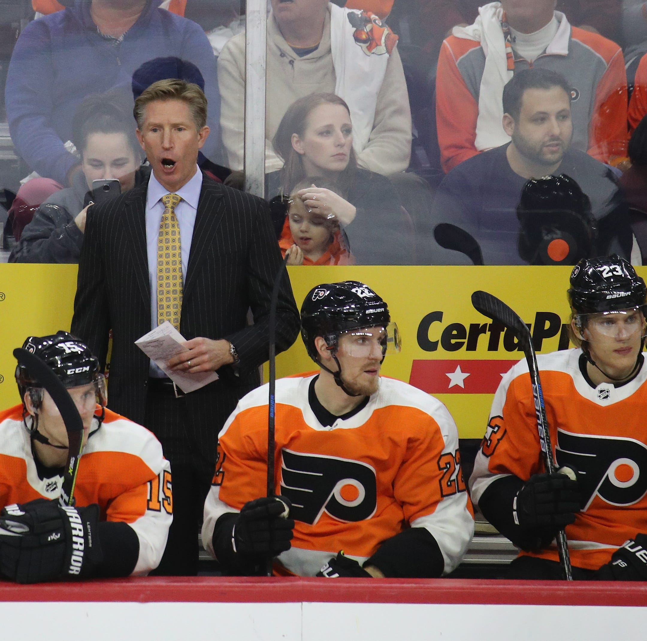 Here's where Flyers are most unhappy after disappointing first quarter