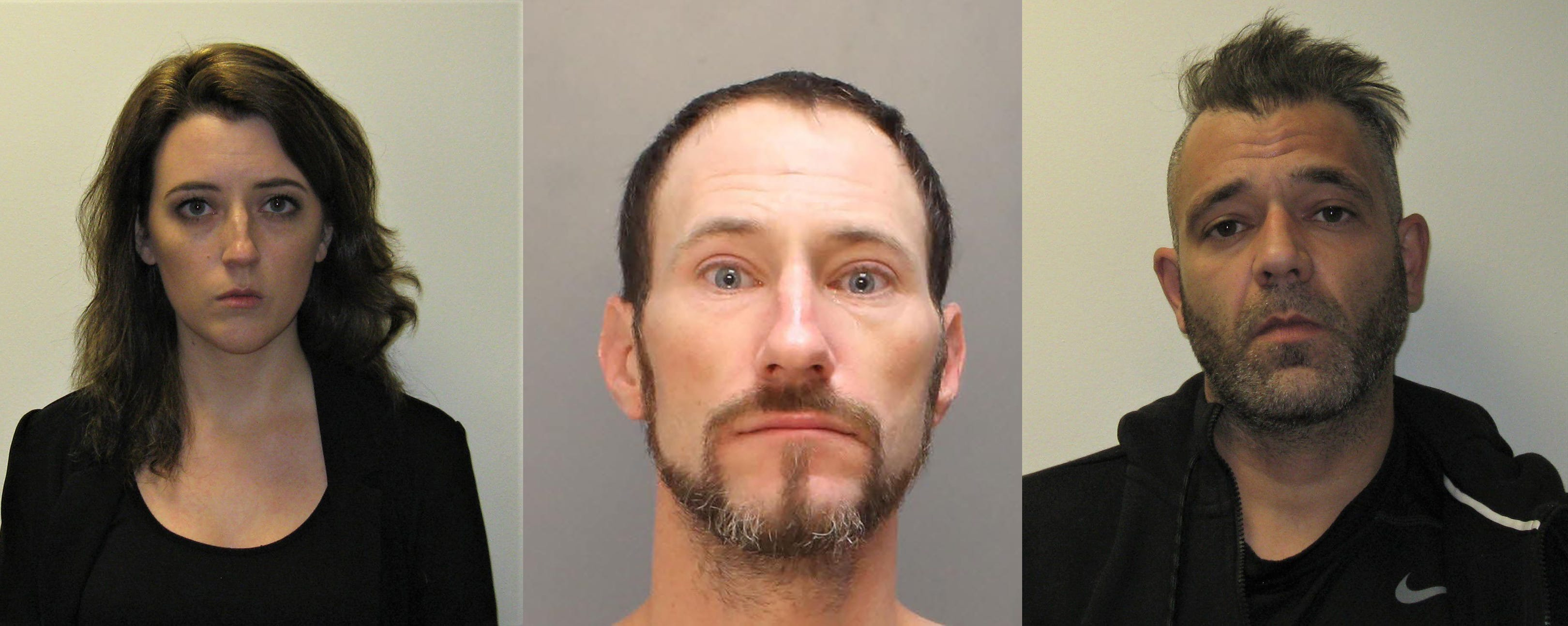 Katelynn McClure, Johnny Bobbitt Jr. and Mark D'Amico are charged with conspiring to steal through a GoFundMe campaign.