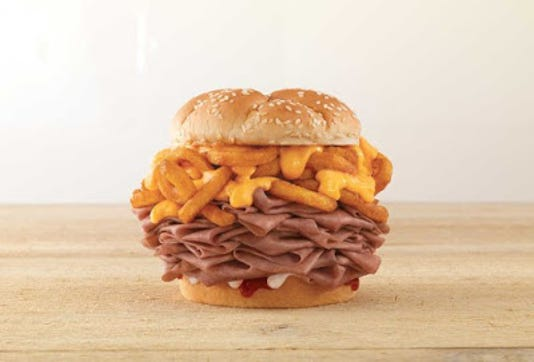 Arbys Arbynator Sandwich