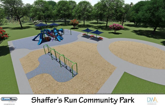New playground equipment will be added to Fairfield  Township's Shafer's Run Park.