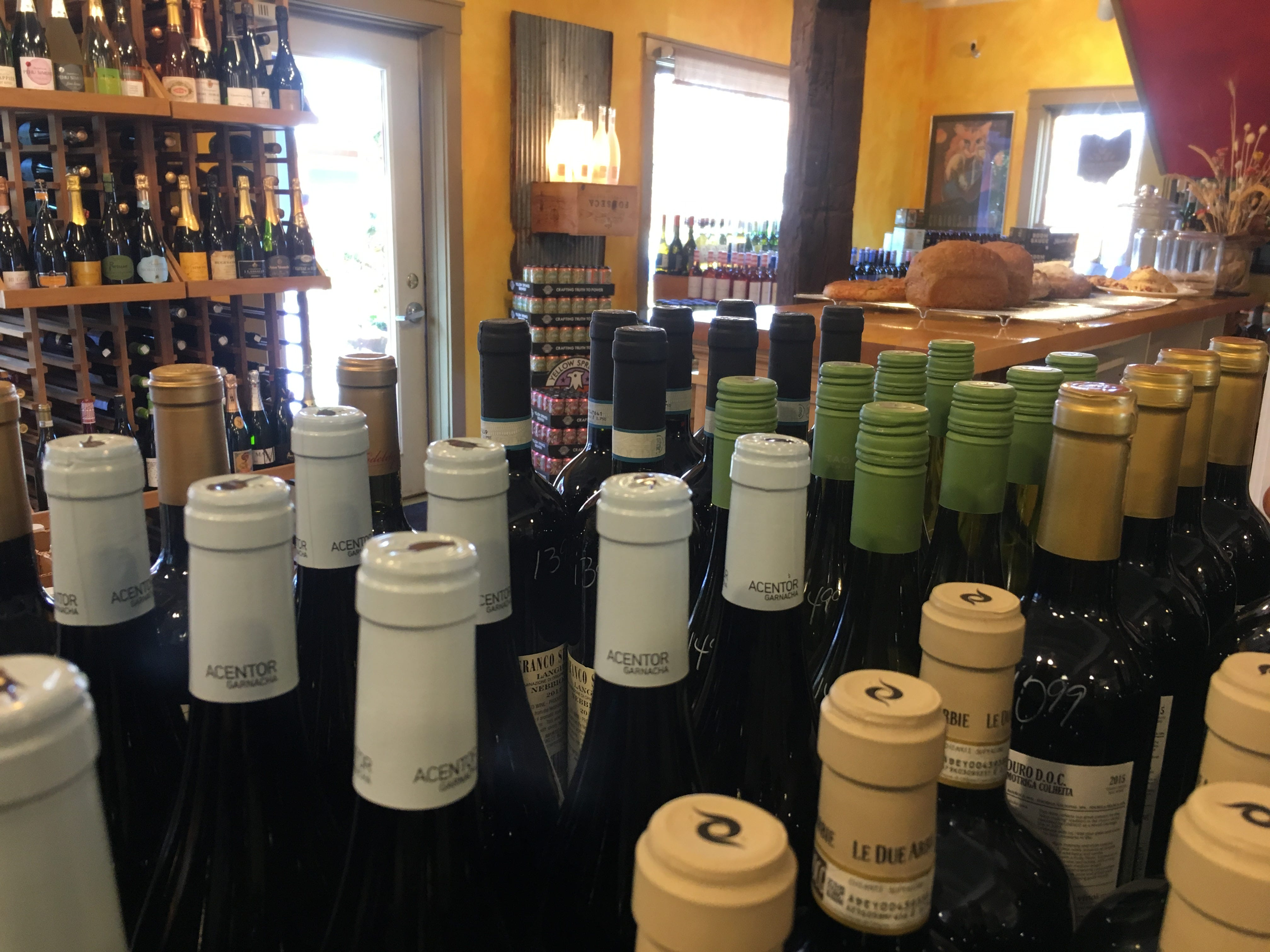 Grab a bottle or taste some wine at The Winds Wine Cellar.