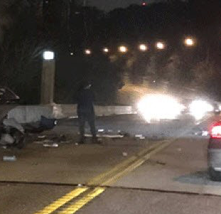 Fatal crash closes Columbia Parkway