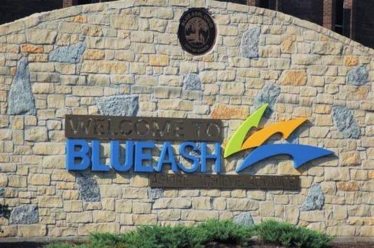 Blue Ash Sign
