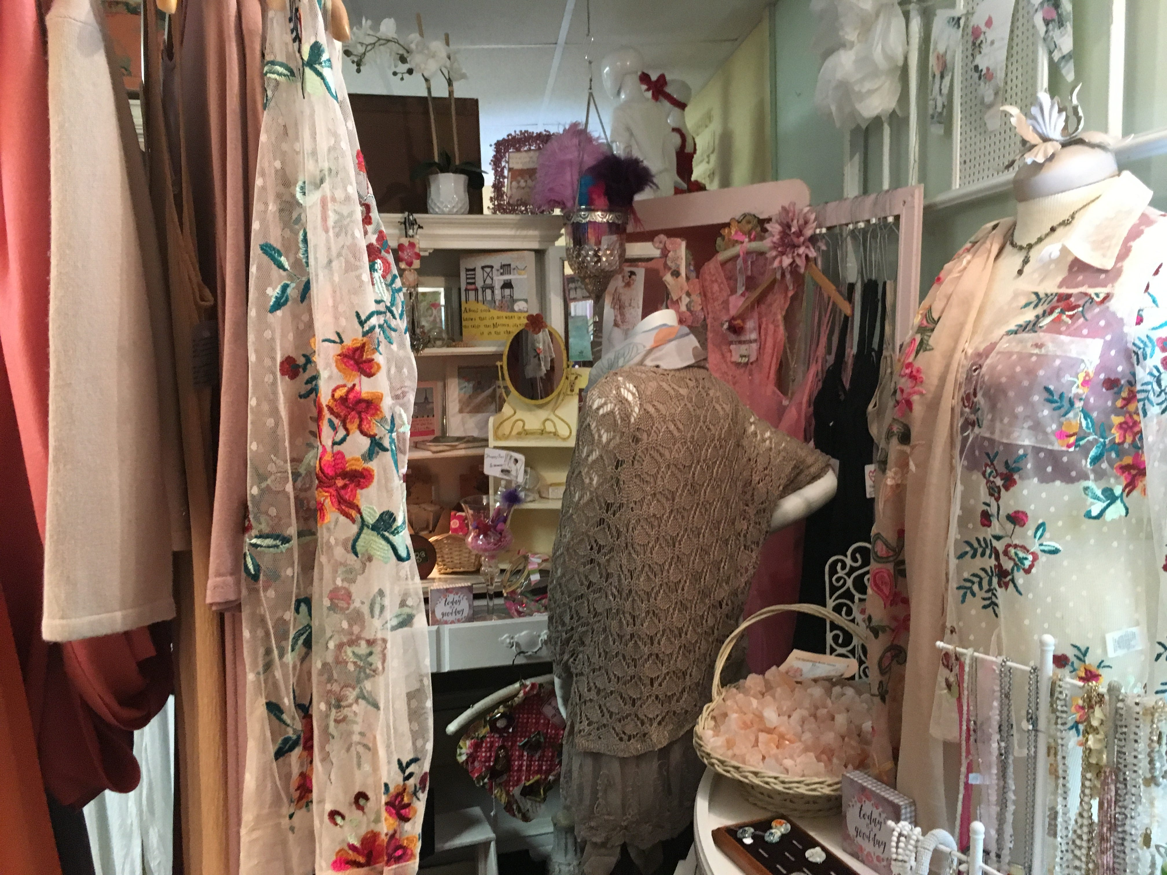 Heaven on Earth Emporium is full of treasures both vintage and new.