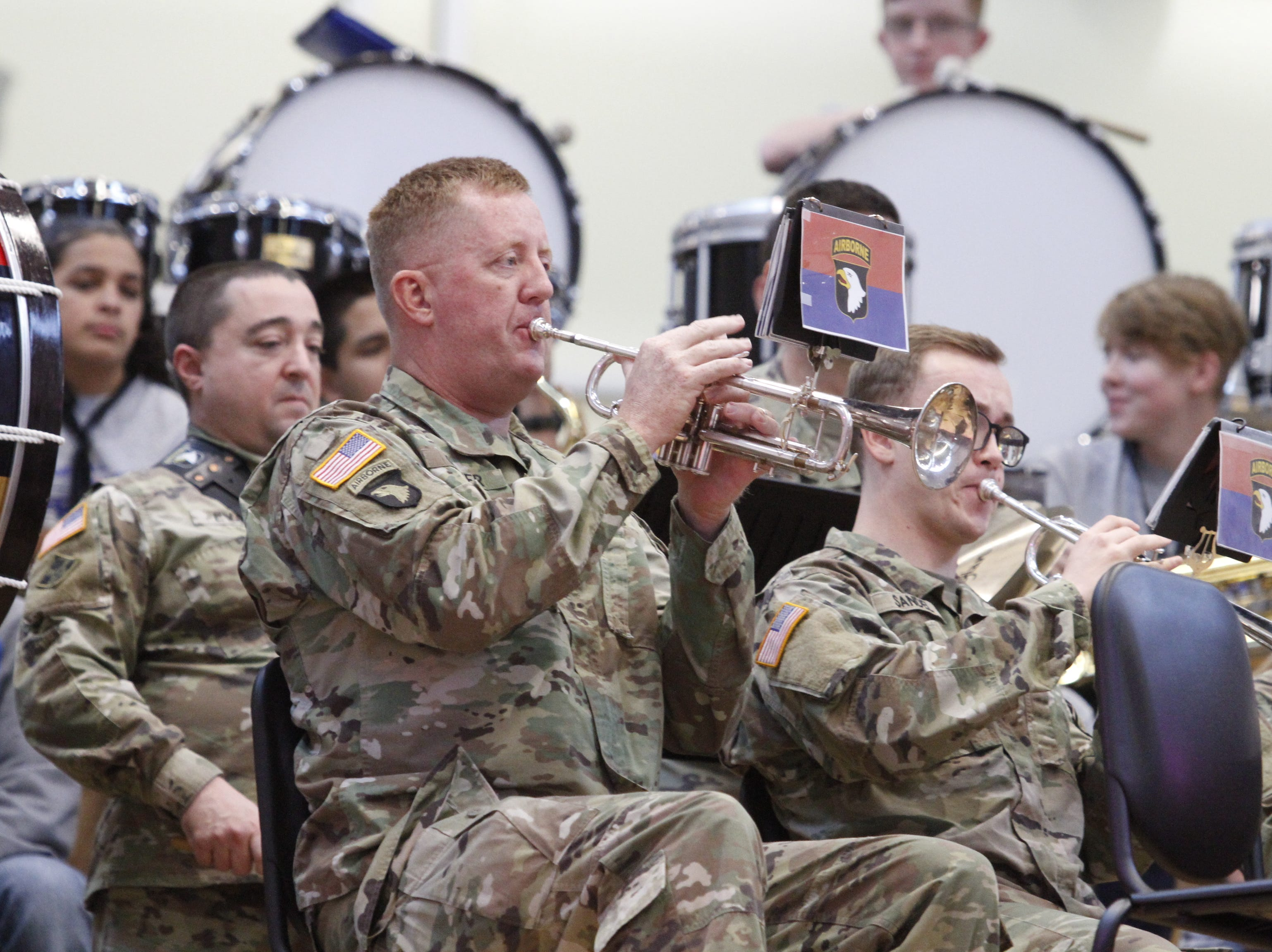 Fort Campbell High School, a 21st Century DODEA project, celebrated its opening with a ribbon cutting ceremony on Nov. 15, 2018.
