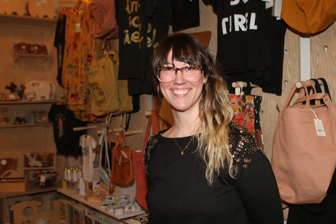 Elizabeth Conner of Hey Noli is one of the newest downtown business owners bringing women shoppers downtown.