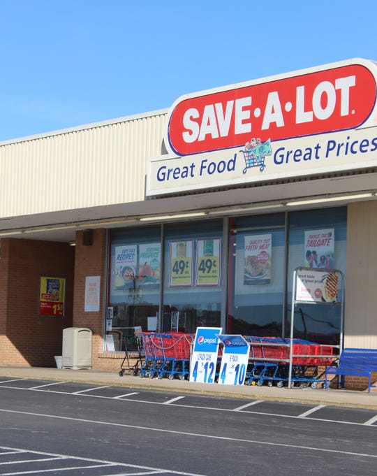 Downtown shoppers on a budget can find produce at the Save-A-Lot on Riverside Drive, which is also over a mile from APSU.
