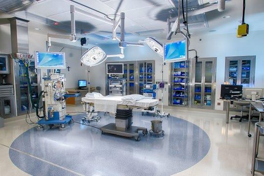 Morristown Medical Center's hybrid operating room.