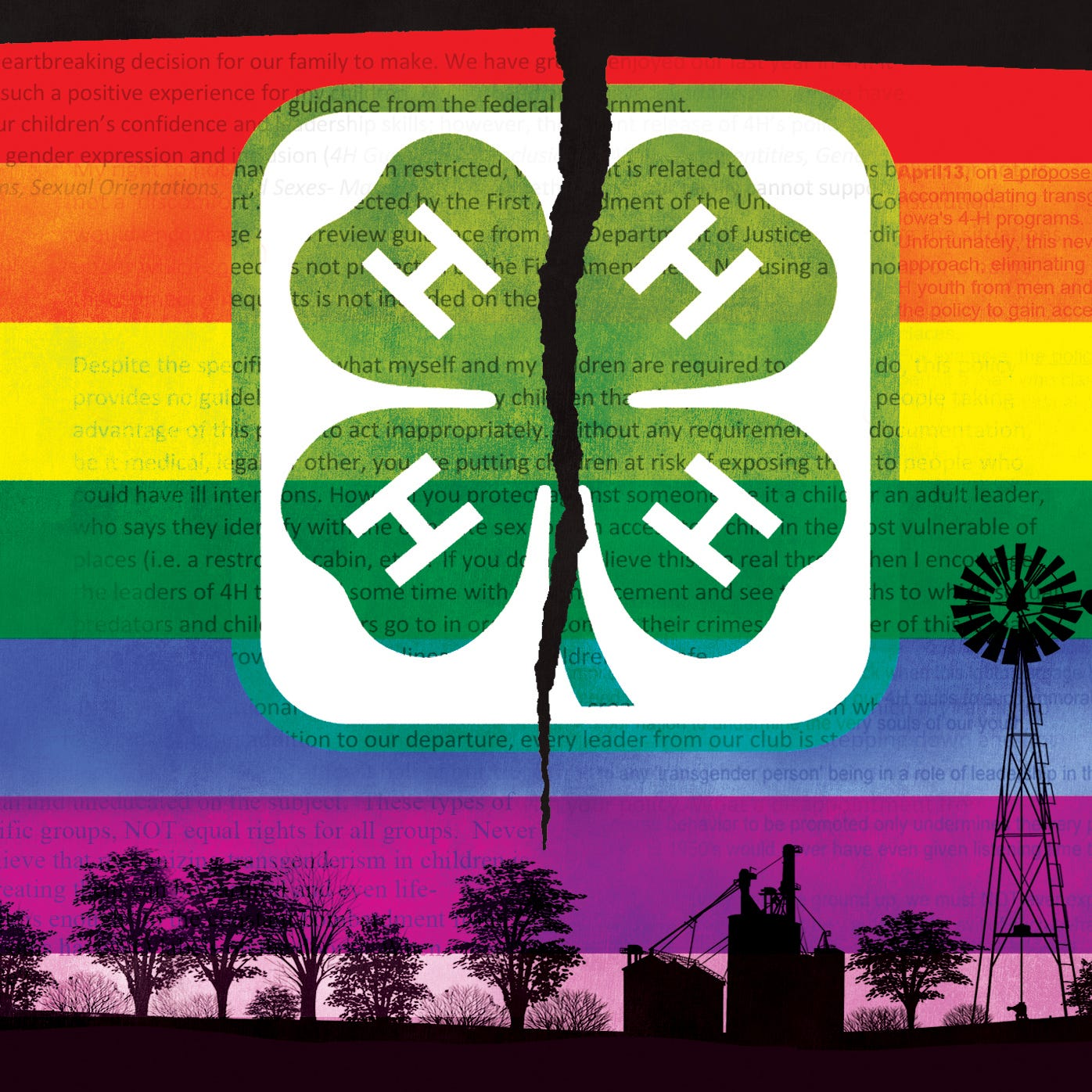 How Trump administration pressure to dump 4-H's LGBT policy led to Iowa leader's firing