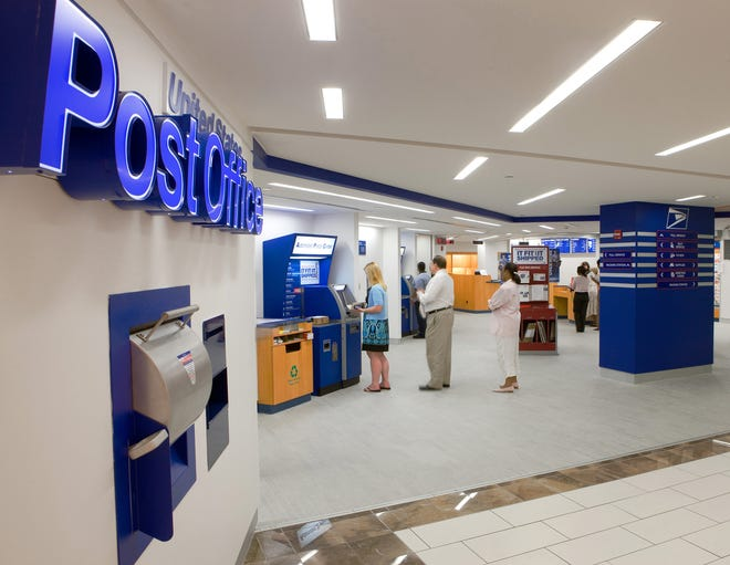 Mail delivery and postal retail services will be suspended on Wednesday by the U.S. Postal Service.
