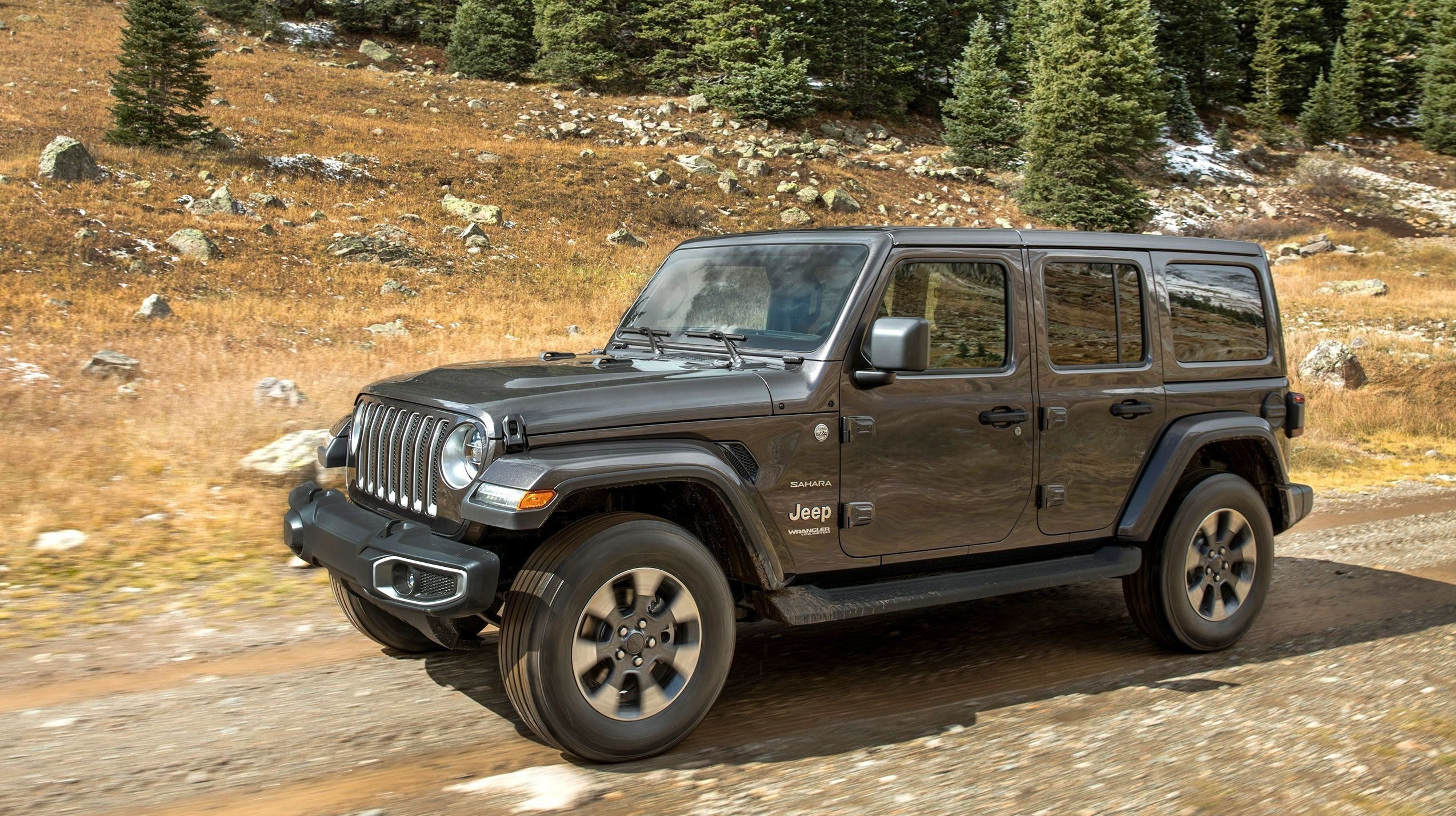 Some drivers have complained that certain Jeep Wranglers can develop an intense steering vibration known as a death wobble if they hit a bump at highway speeds.