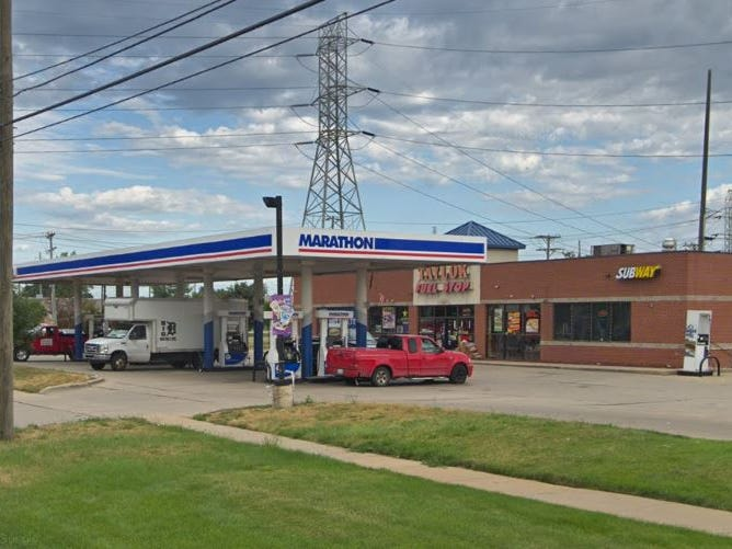 Woman shot at Taylor gas station after fight inside store