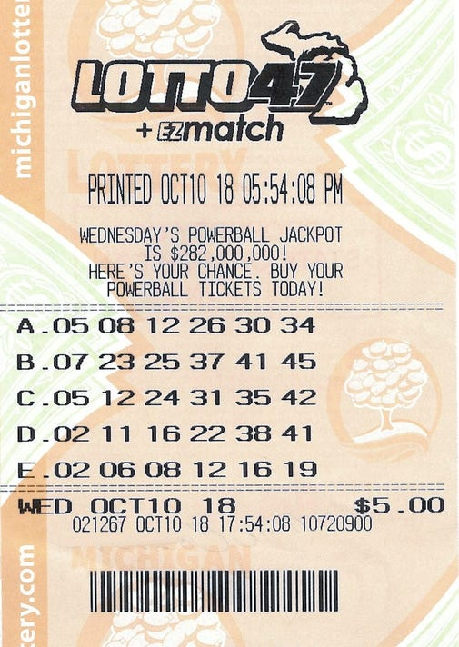 Michigan Lottery 2 Players To Split 9 6m Lotto 47 Jackpot