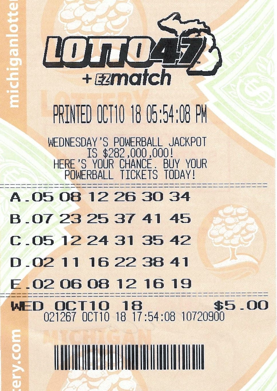 mega lotto jackpot usa