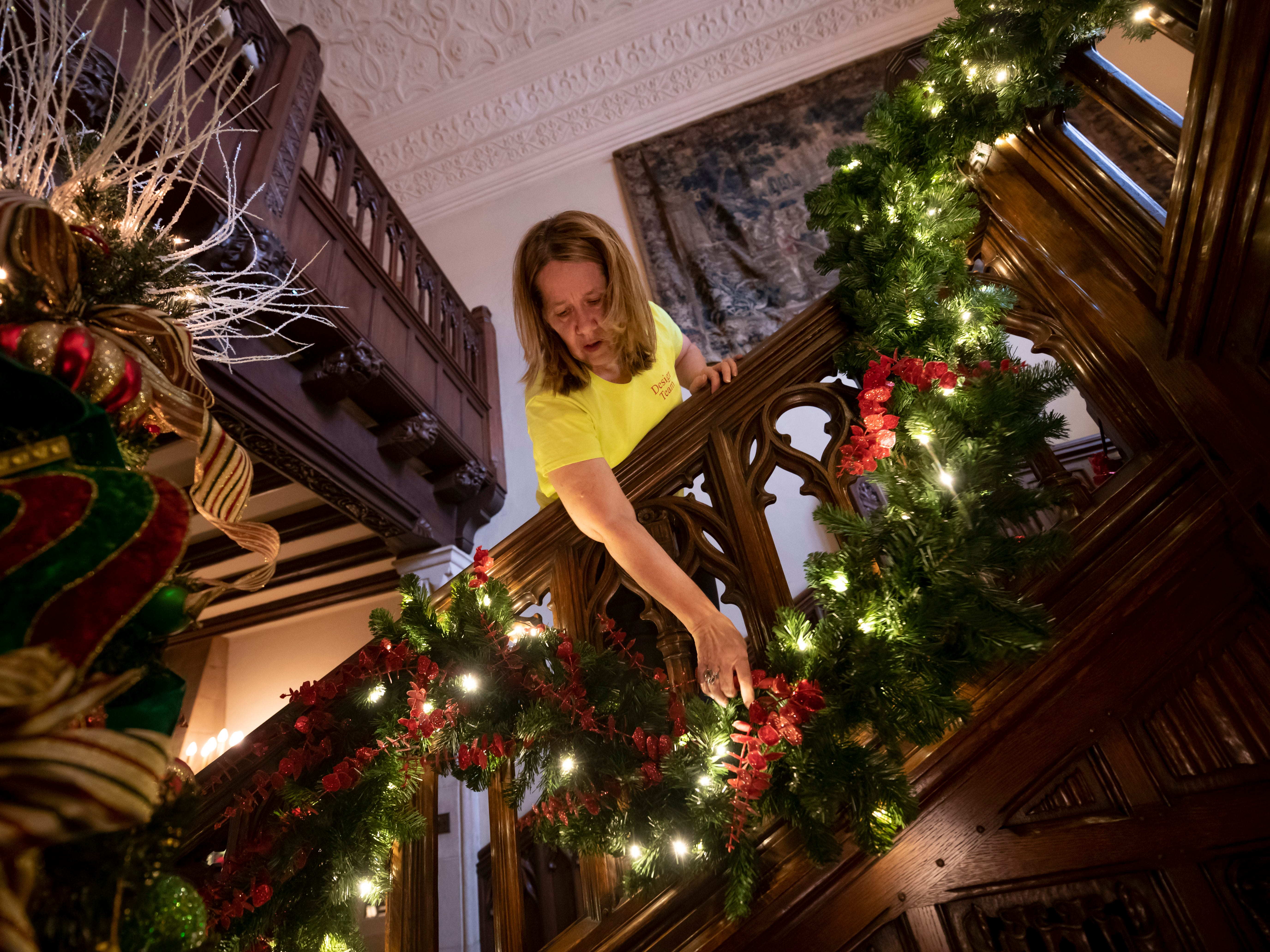 A different set of 'elves' work magic at Meadow Brook Hall