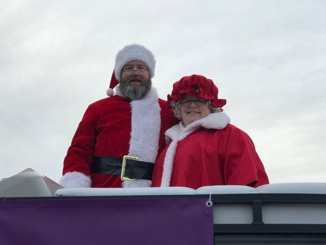 While no longer at Forest Mall, Santa and Mrs. Claus will make the rounds through Fond du Lac this holiday season.