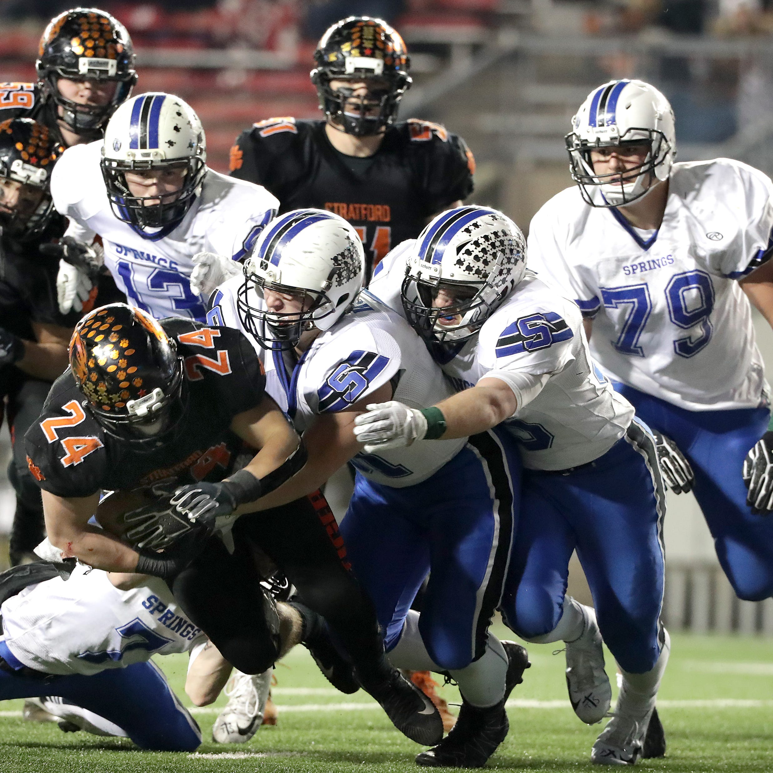 WIAA football: Stratford rolled the dice on fourth downs with mixed results
