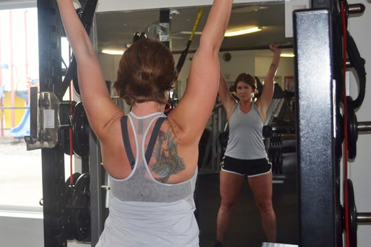 The first time Bailey Vankirk walked into Bodi N Balance was the first time she had ever stepped into a gym. Today, she is the business' office manager as well as one of the many women who use the gym for women's strength training.