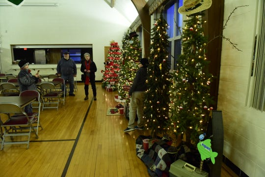 The 42nd Annual Winesburg Christmas Weekend featured a number of holiday events and attractions including Christmas Tree Lane at St. Paul Lutheran Church.
