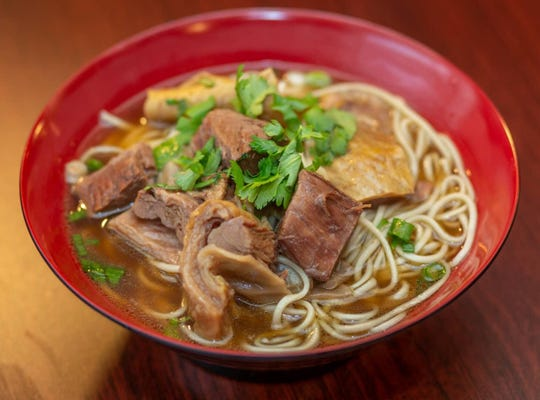Beef noodle soup from Beijing Noodle in Fort Collins.