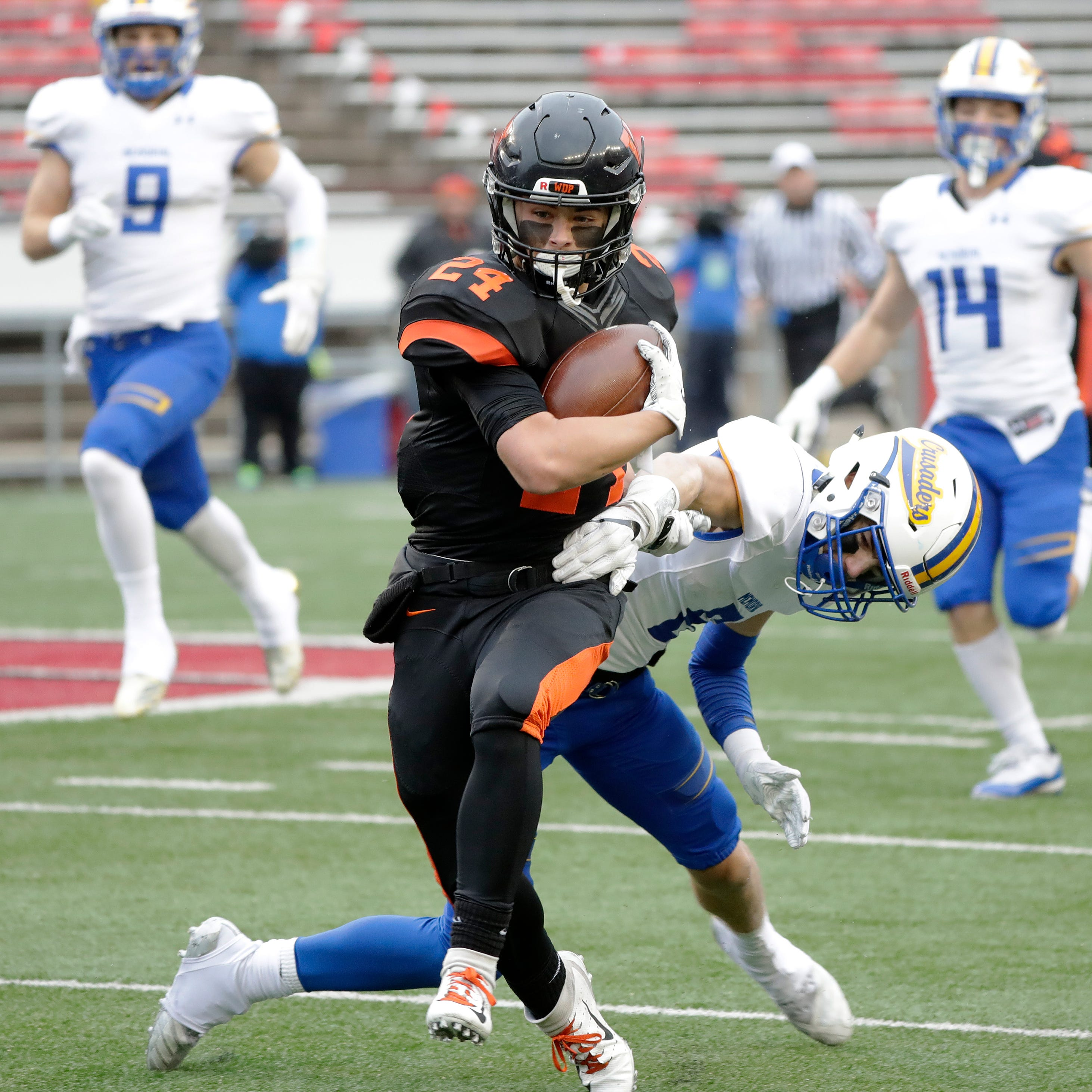 WIAA state football: Rally stuns West De Pere in title loss to Catholic Memorial