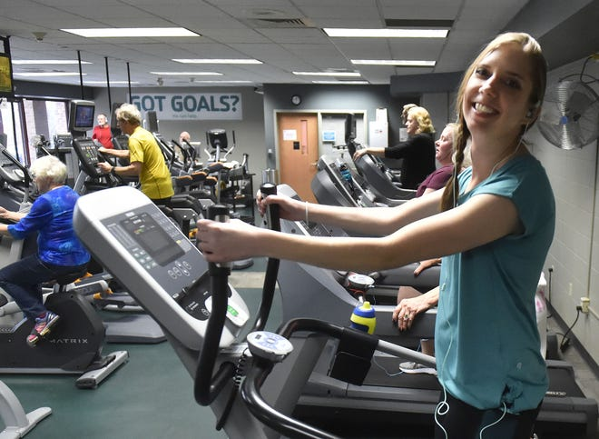 After years of rehabilitation, Kayla Wilke of Sturgeon Bay fell in love with the lifestyle and continues to exercise at the Door County YMCA in Sturgeon Bay.